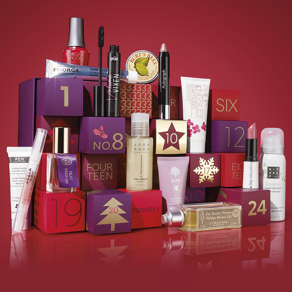 M&S Beauty Advent Calendar 2015