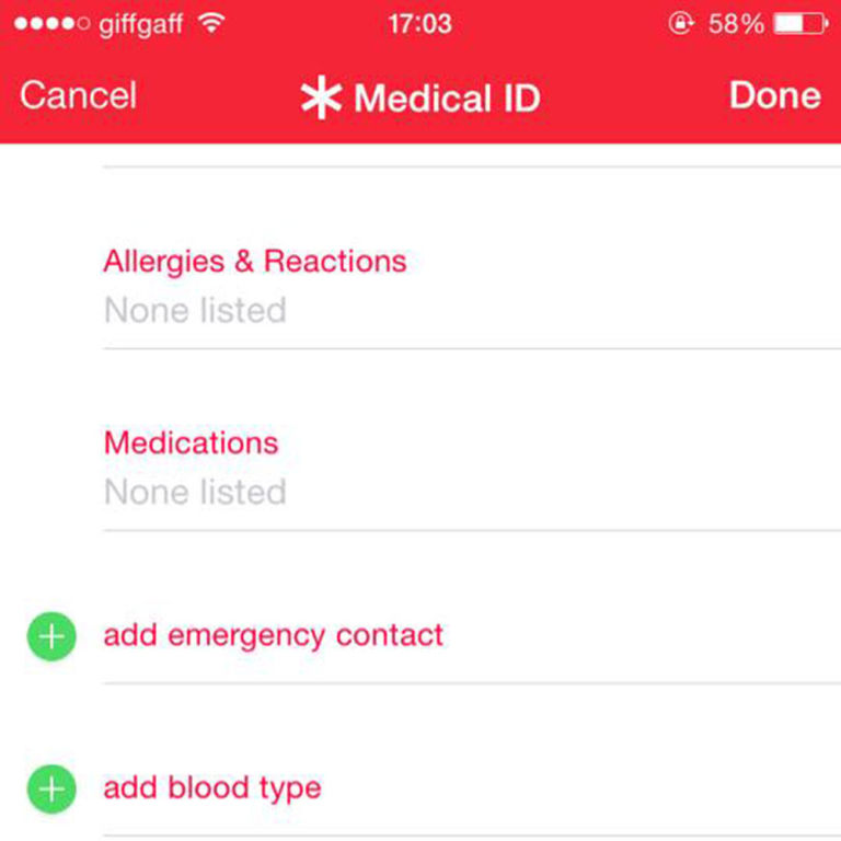 how to add emergency contacts to android phone