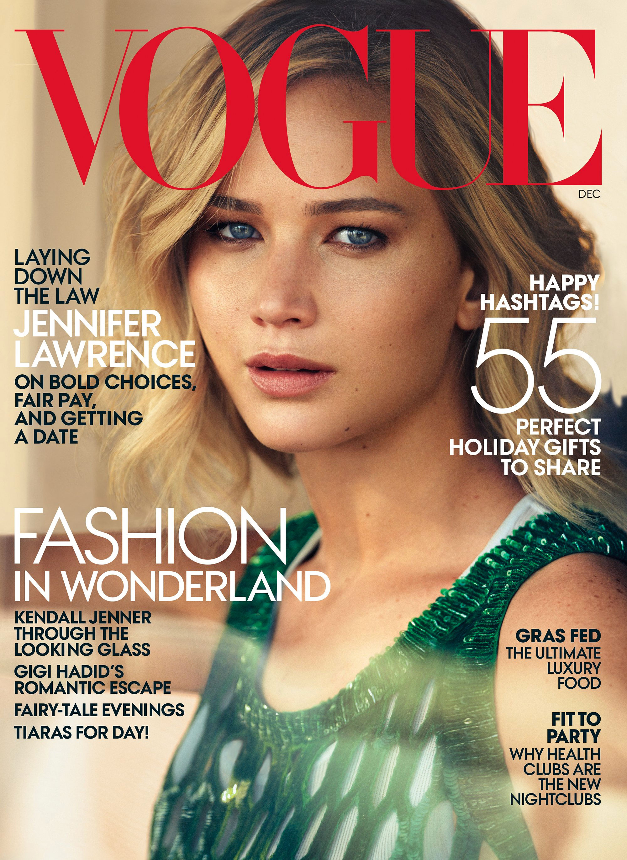 6 things we learnt from Jennifer Lawrence's Vogue interview