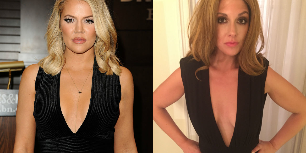 This woman lived like Khloé Kardashian for a week.