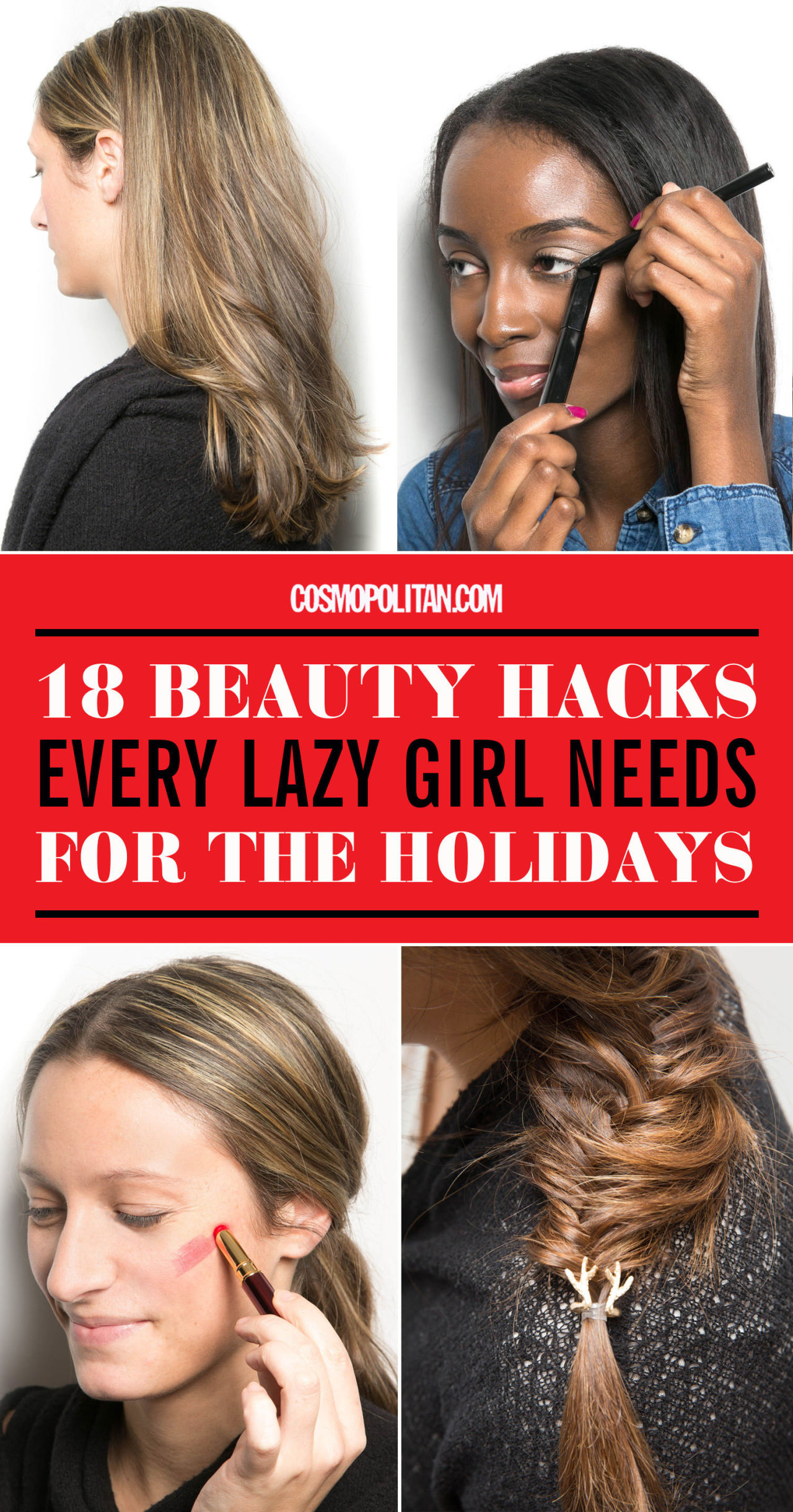 18 Beauty Salon Website Templates: Lazy Girl Holiday Makeup Tips
