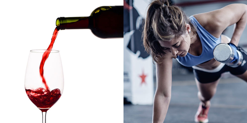 Drinking wine is just as healthy as going to the gym. Science says so.