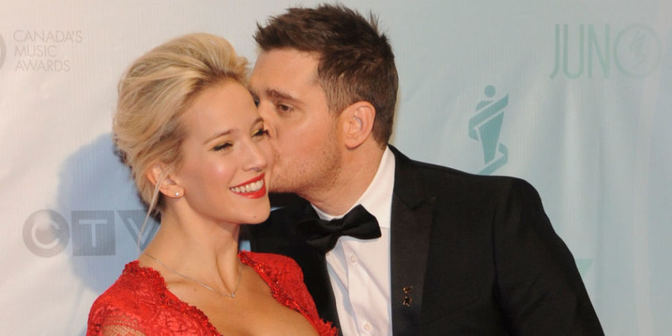 Image result for michael Buble, son and wife