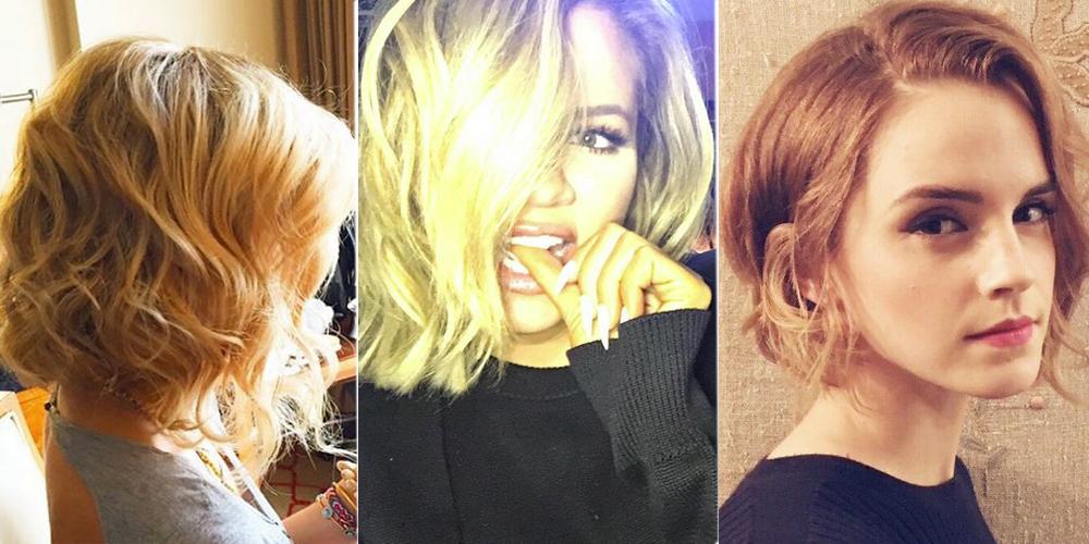 Pleasing Celebrity Bob Haircuts Short Hairstyles Gunalazisus