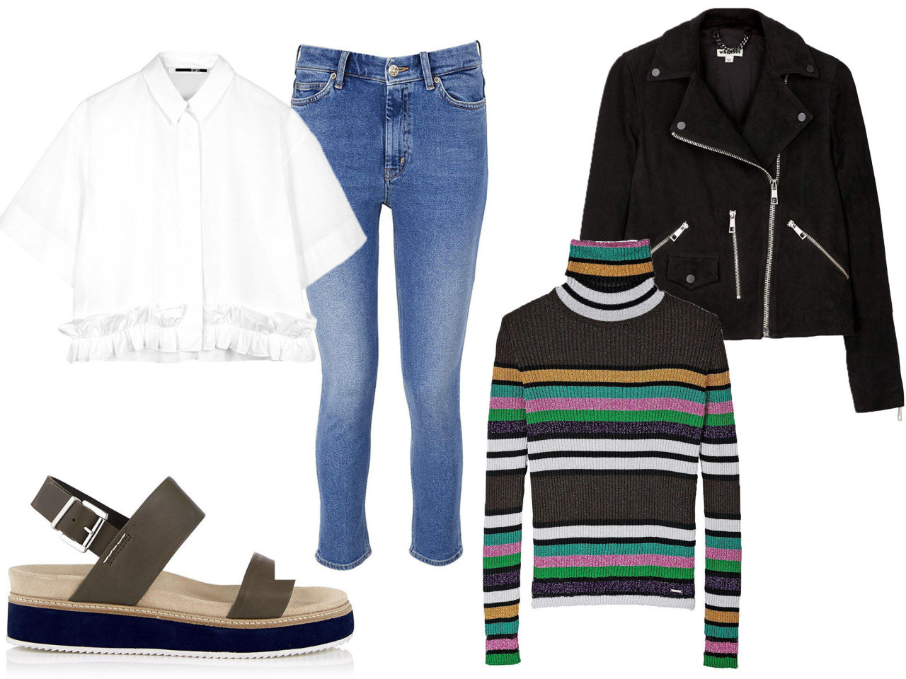 How to layer from Feb to June - boxy shirt and polo