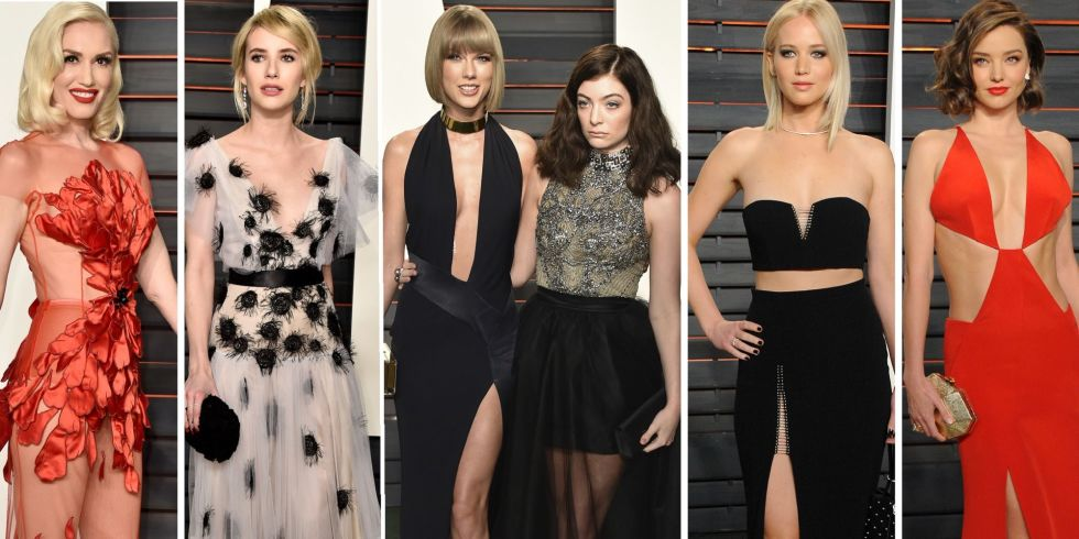 Oscaars 2016: best Vanity Fair after party dresses