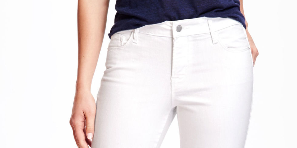 Stain-resistant white jeans are here to turn your world upside-down