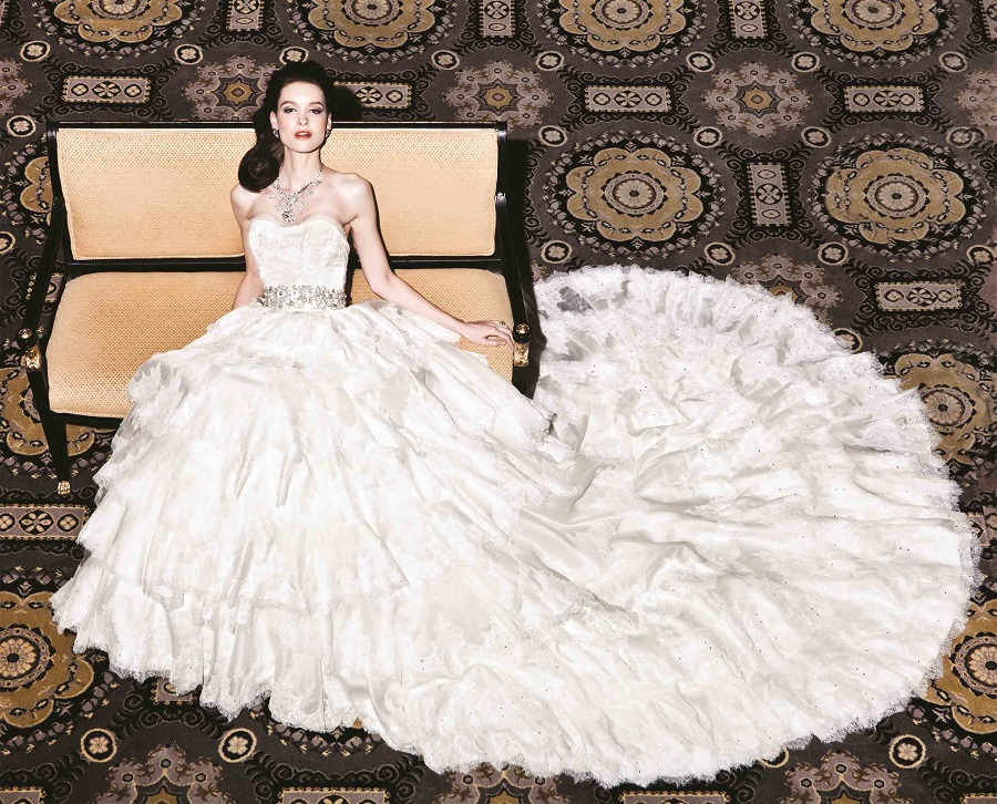 The most expensive wedding dresses of all time for Most expensive wedding dress