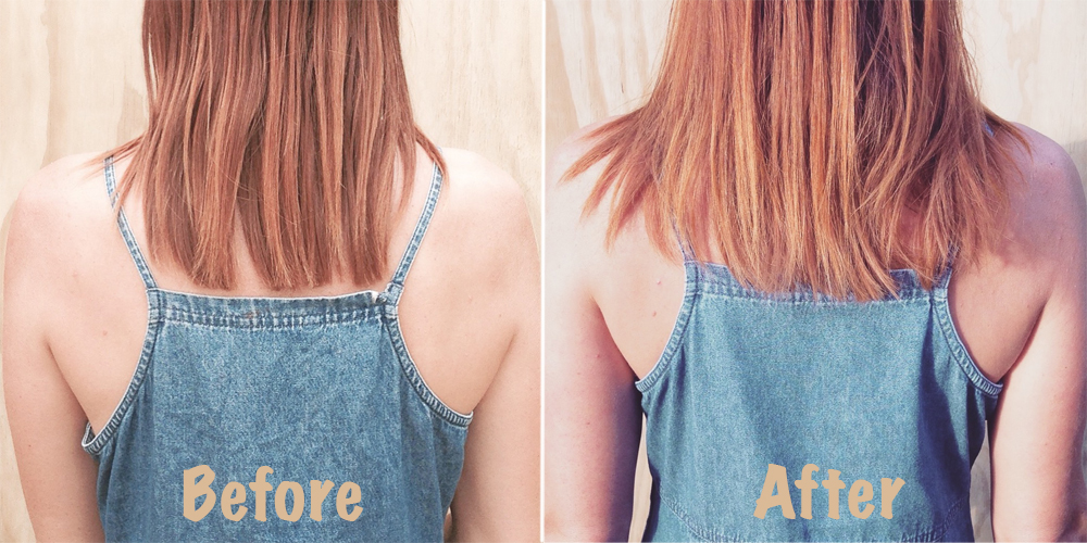 how to make your hair grow backwards