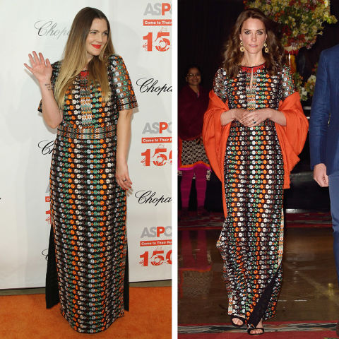 Who Wore It Better? Drew Barrymore Vs Kate Middleton
