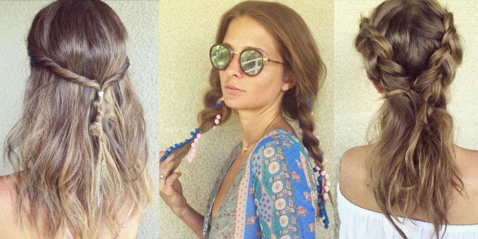 Millie Mackintosh slayed the festival hair game at Coachella