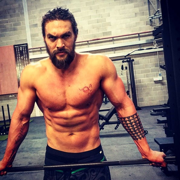 Jason Momoa Didn't Always Look Like This