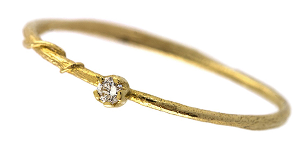 Teeny Tiny Engagement Rings That Will Stop You Craving A Rock