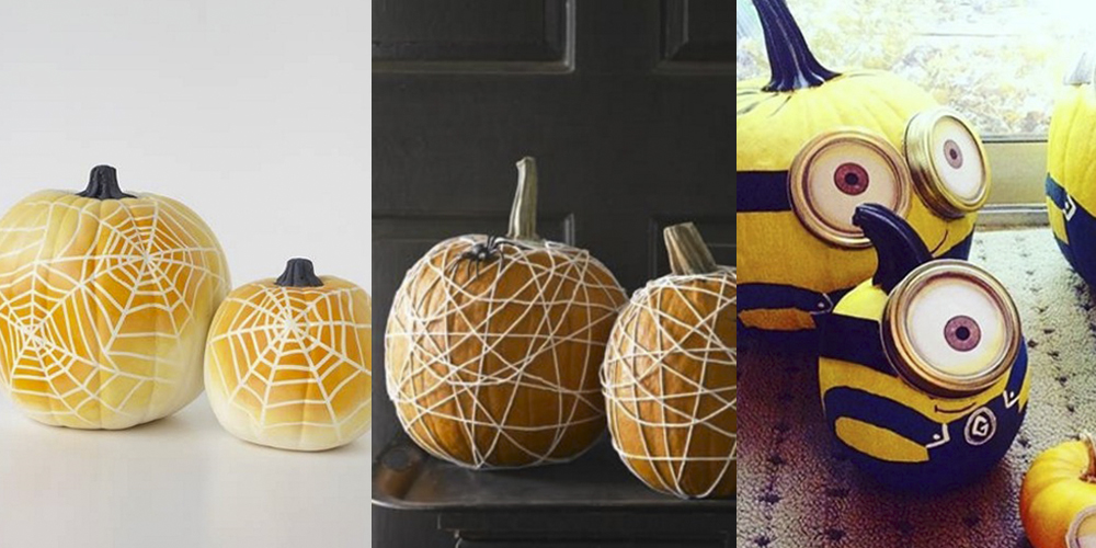 24 Of The Best No Carve Pumpkin Ideas For Halloween