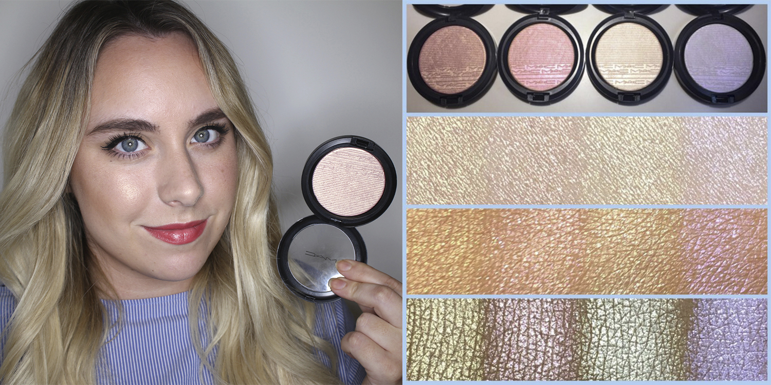 Mac extra dimension highlighter soft frost view image
