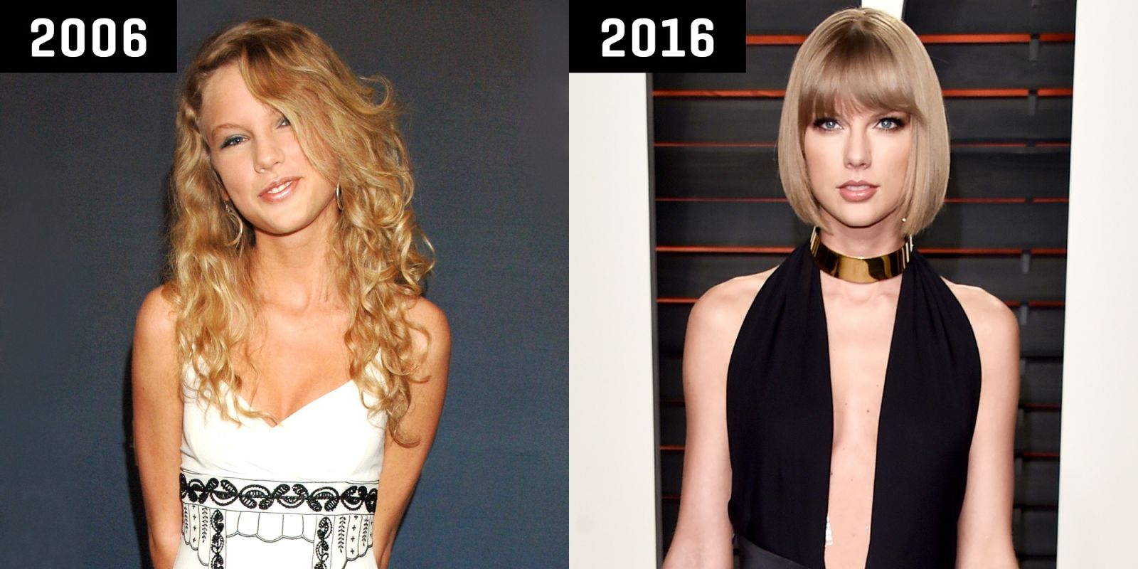 Taylor Swifts mind-bending style transformation from 2006