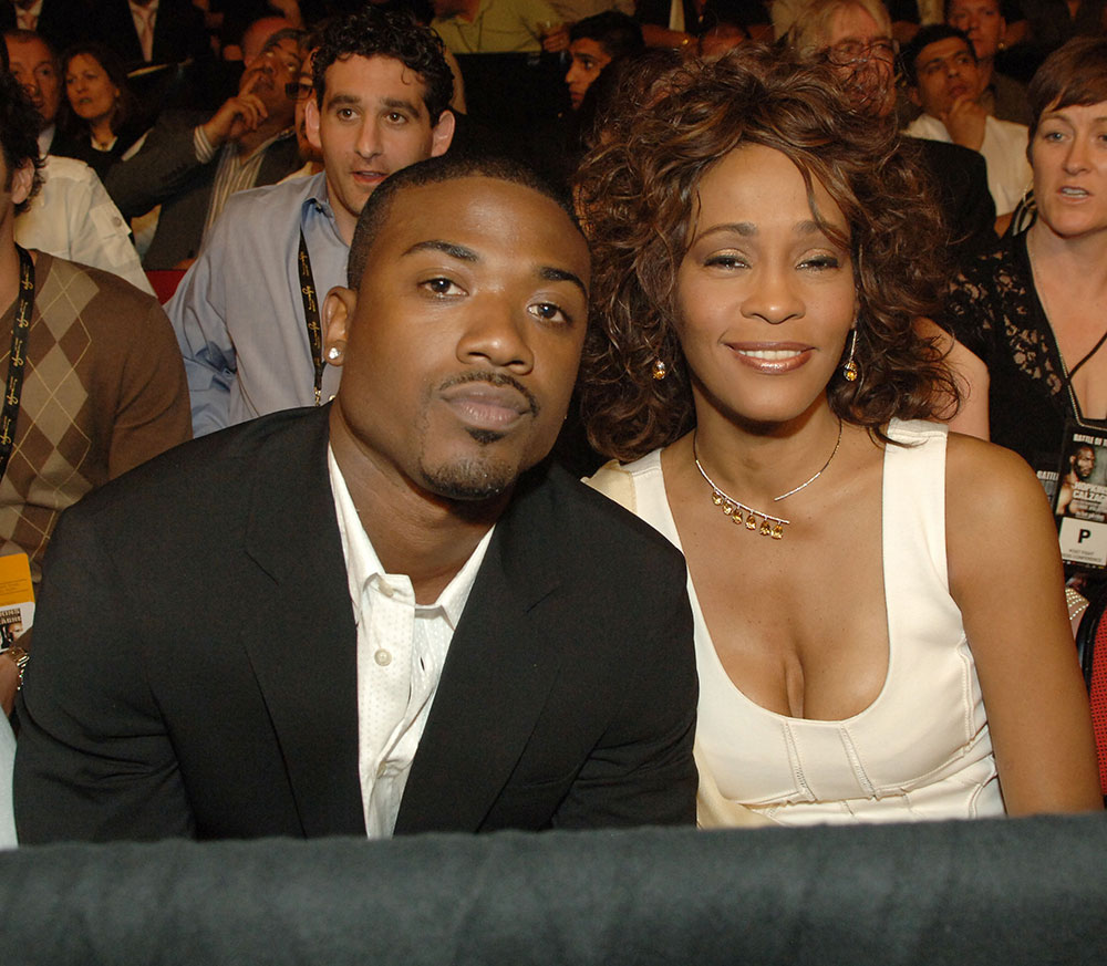 ray jay and whitney houston relationship with a woman