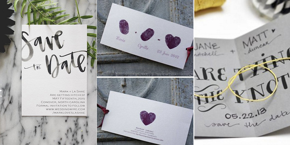 Wedding Invites Pinterest: 22 Adorable And Easy DIY Wedding Invitations From Pinterest
