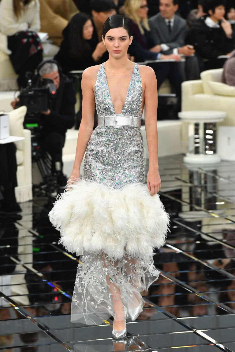 Kendall Jenner in Chanel haute couture