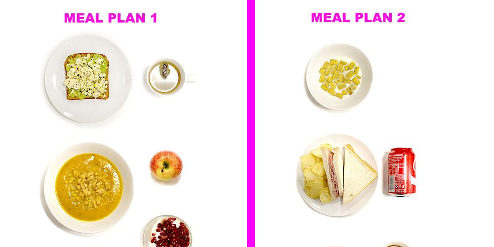 Same meal plan