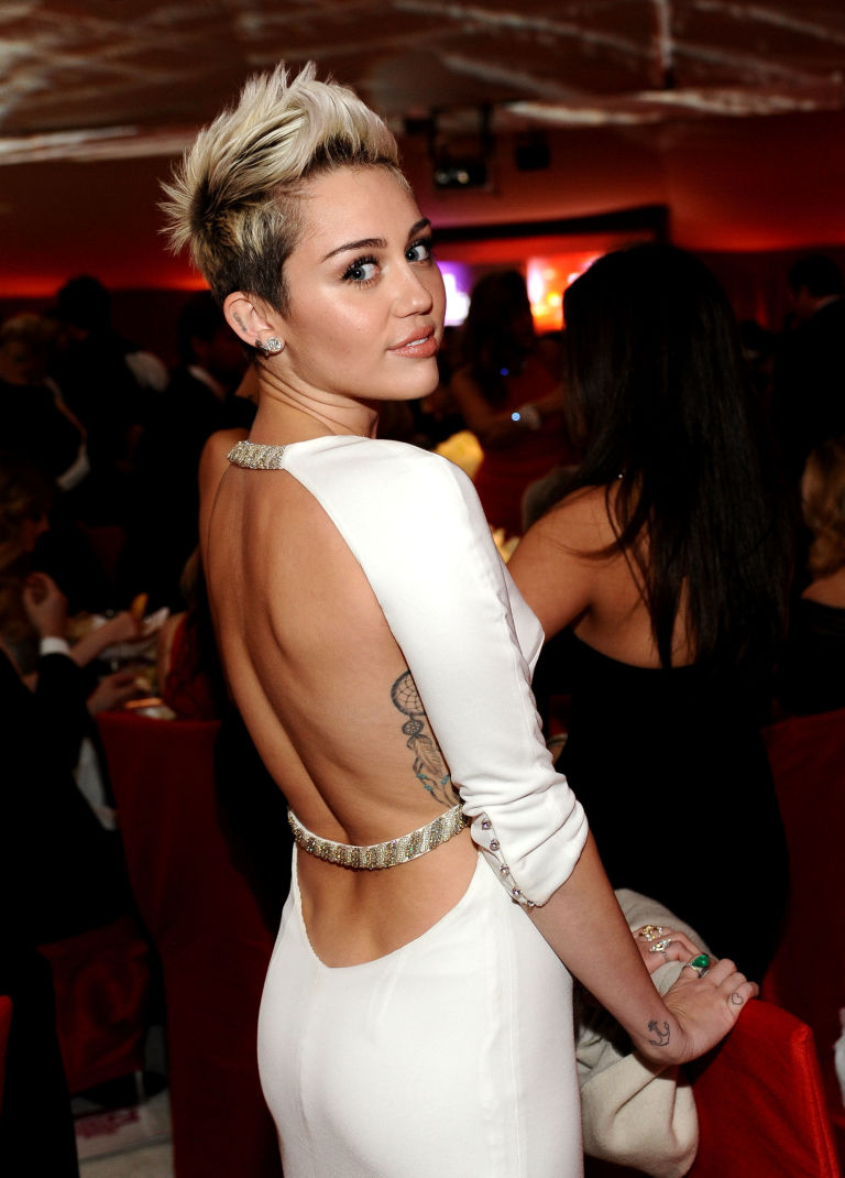 Image result for back dimples miley cyrus