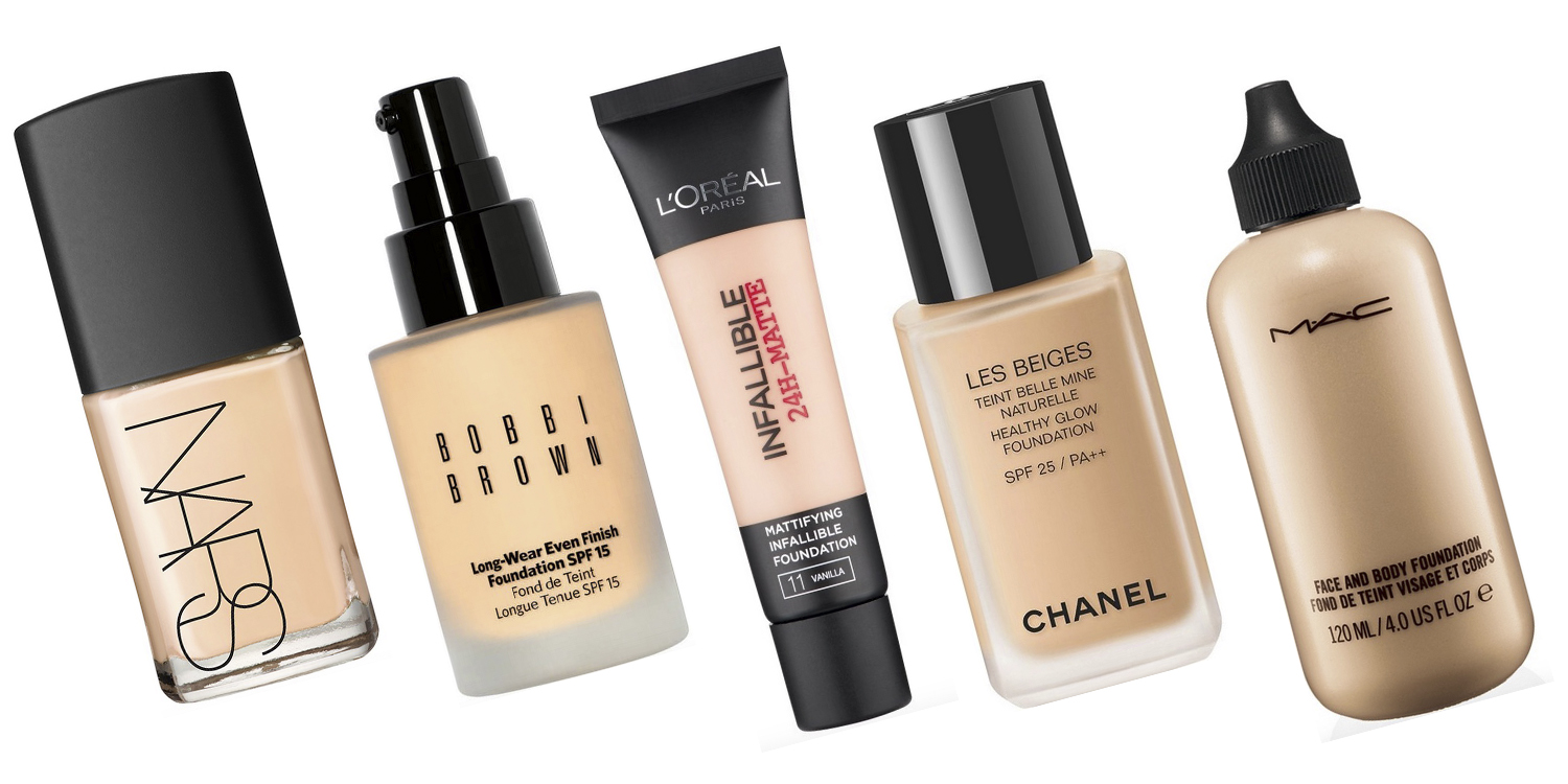 Best foundation for all skin types: Our top ten