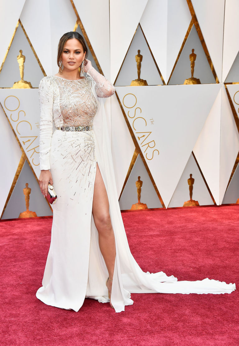 Here\'s How to Do Your Hair Like Chrissy Teigen on the Oscars Red ...