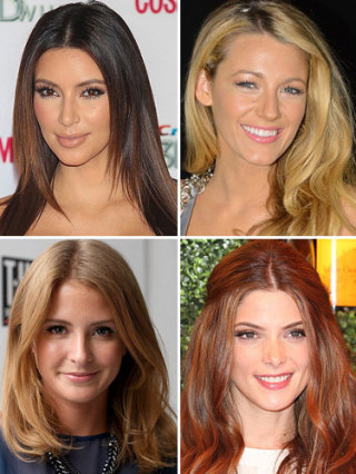 Cosmo39s Celeb Hair Colour Crushes