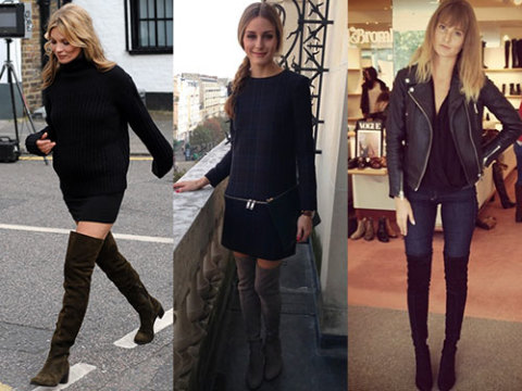 top five thigh high boots trends fashion