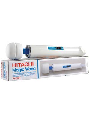 Hitachi vibrator and sexy stockings
