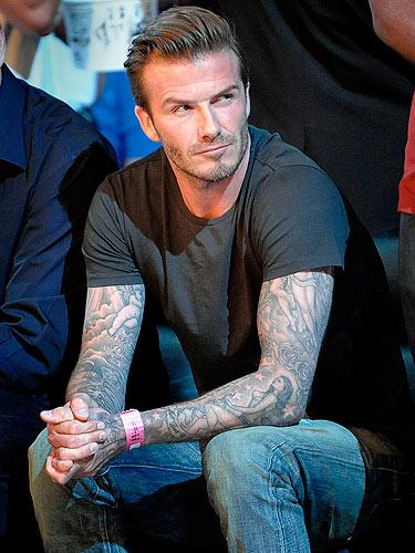 Italian Boy Name: David Beckham's Sexiest Pics