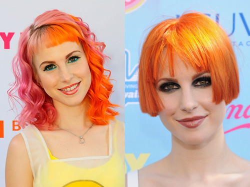 Fabulous Celebrity Hair Short Vs Long Short Hairstyles Gunalazisus