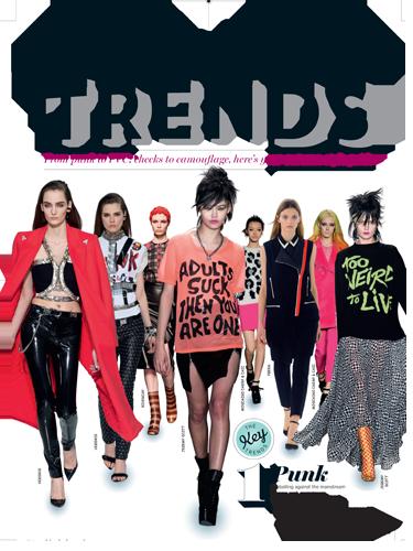 Cosmopolitan Fashion Magazine First Look Inside