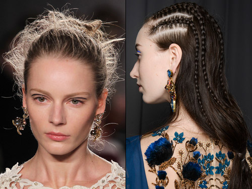 Enjoyable New Hair Makeup And Beauty Trends For Autumn Winter 2014 Short Hairstyles Gunalazisus