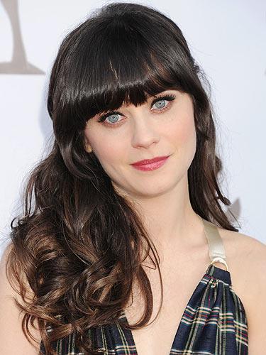Surprising Zooey Deschanel39S The New Celeb Face Of Pantene Hairstyles For Women Draintrainus