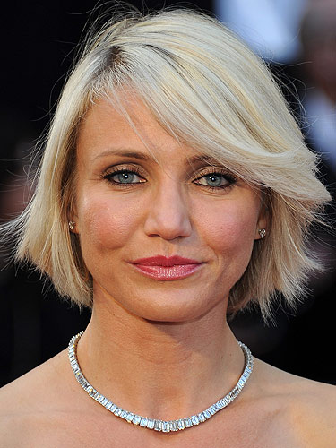 Remarkable Cameron Diaz Cries Over Haircut Hairstyles For Men Maxibearus