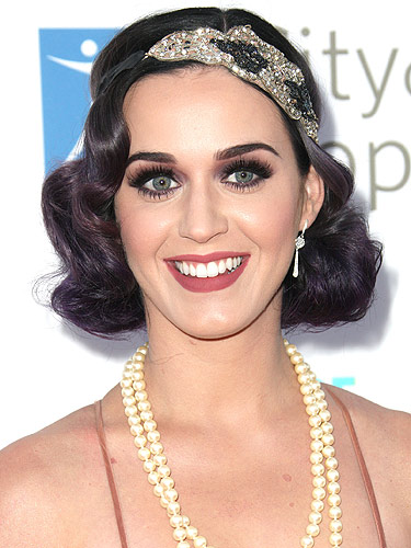 Astounding Get Katy Perry Veronica Lake Great Gatsby Hairstyle Short Hairstyles Gunalazisus