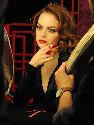 Get The Look Emma Stone S Revlon Party Look