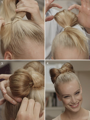 Groovy Get The Look Step By Step Guide To The Hair Bow Short Hairstyles Gunalazisus