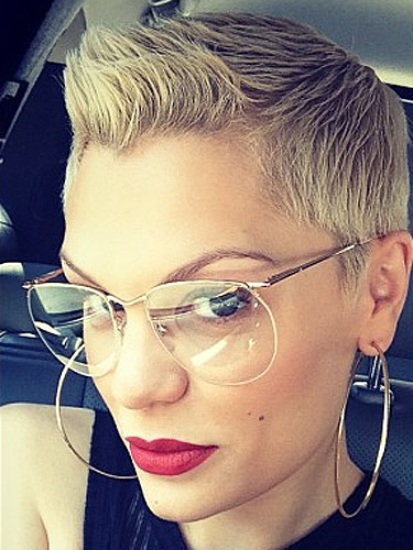 Jessie J Short Blonde Hair