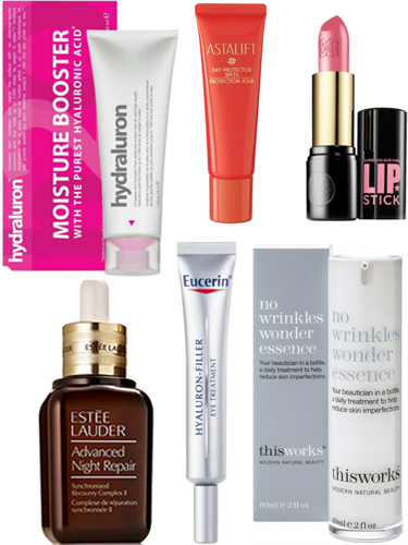 Products with hyaluronic acid