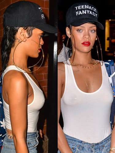 Rihanna real hair