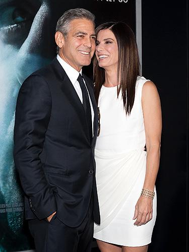 George Clooney won't d... Sandra Bullock