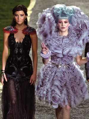 Cool The Meaning Behind The Hunger Games Hairstyles Hair Interview Short Hairstyles Gunalazisus