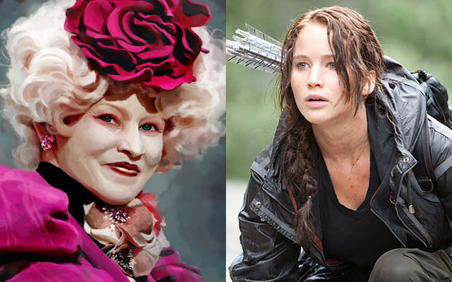 Astonishing The Meaning Behind The Hunger Games Hairstyles Hair Interview Short Hairstyles Gunalazisus