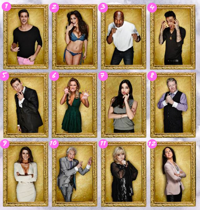 Celebrity Big Brother housemates revealed | Television ...