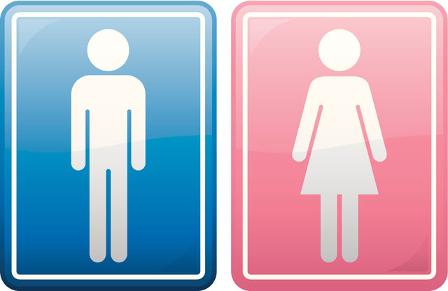 People Are Loving This Supermarket 39 S Unisex Toilet Sign