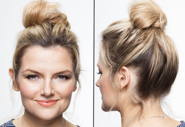 Super How To Style A Topknot Hair Tips And Tutorials Short Hairstyles Gunalazisus