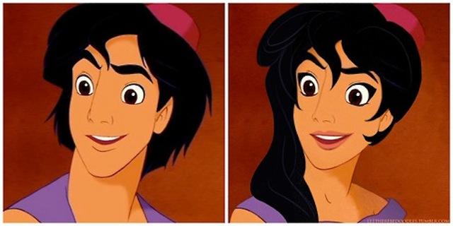 Disney Princes Get Feminine
