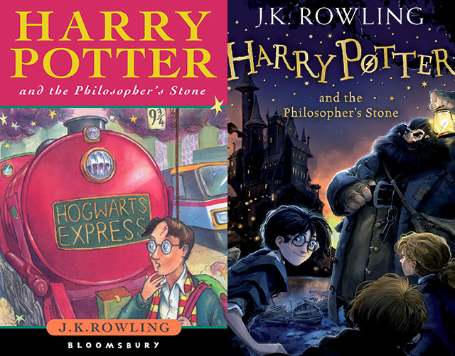 Harry Potter Book Covers Jonny Duddle ~ Harry potter covers redesigned to target children